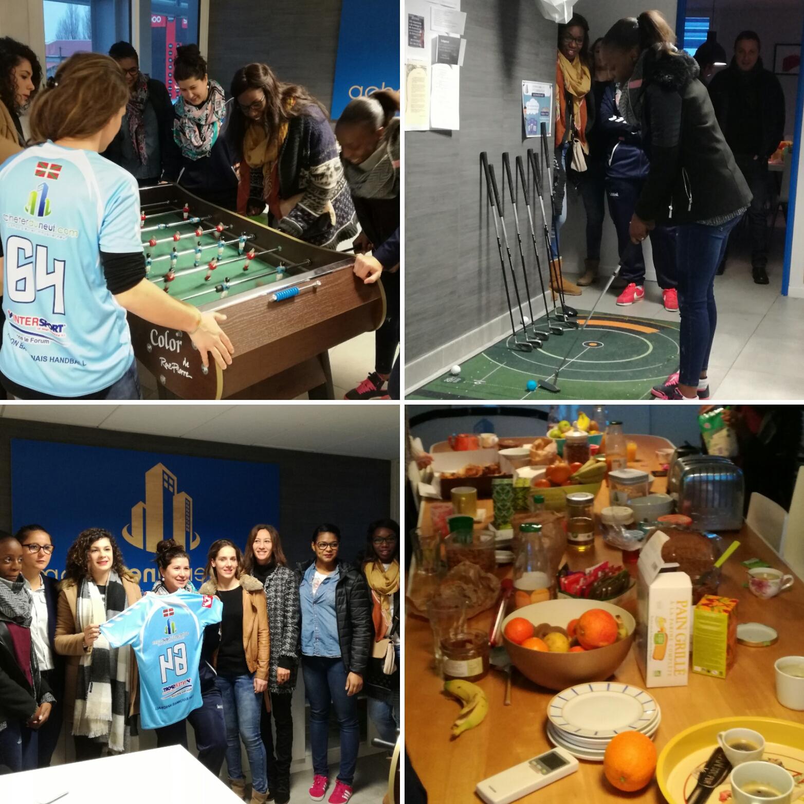 Acheterduneuf.com sponsor de l'équipe de Handball AB